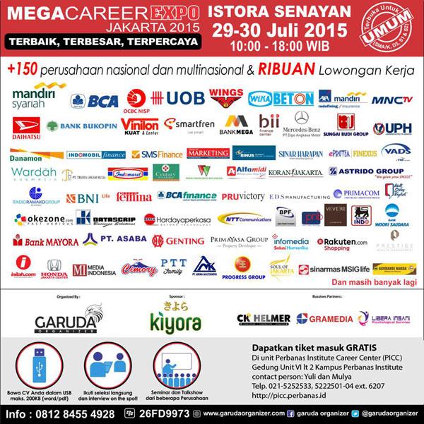 Mega Career Expo Jakarta 2015