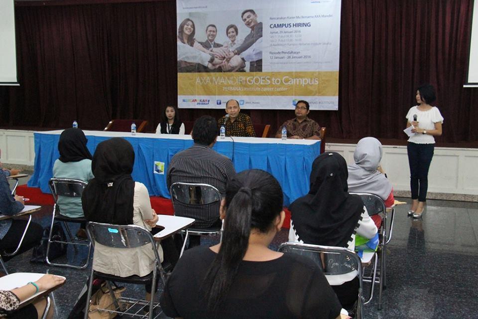 Campus Hiring Perbanas Institute Career Center Kerjasama dengan PT AXA Mandiri