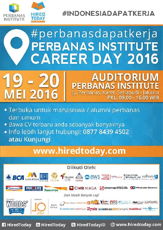 Perbanas Institute Career Expo 2016