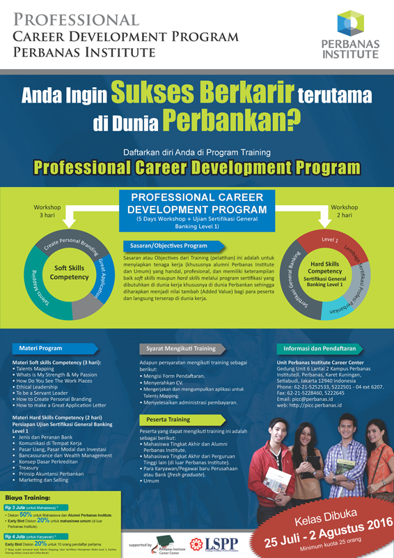 Pelatihan Professional Career Development Program (CDP) Perbanas Institute
