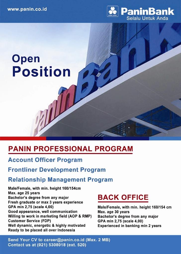 PANIN BANK Professional Program