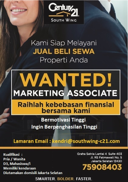 WANTED! Marketing Associate.